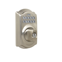 schlage electronic push button deadbolt mobile locksmith service providing re keys lock outs. Black Bedroom Furniture Sets. Home Design Ideas
